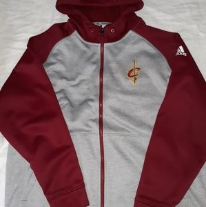Cleveland Cavaliers Adidas Men's Climawarm zip up